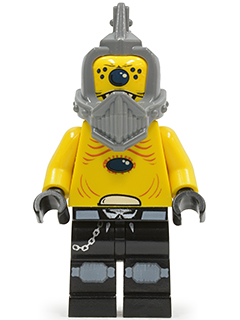 LEGO sp100 Space Police 3 Alien - Snake without Visor