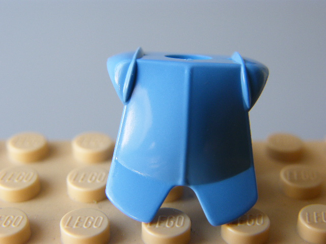 Armor Breastplate with Leg Protection  A#5 Lego Medium Blue  Minifig