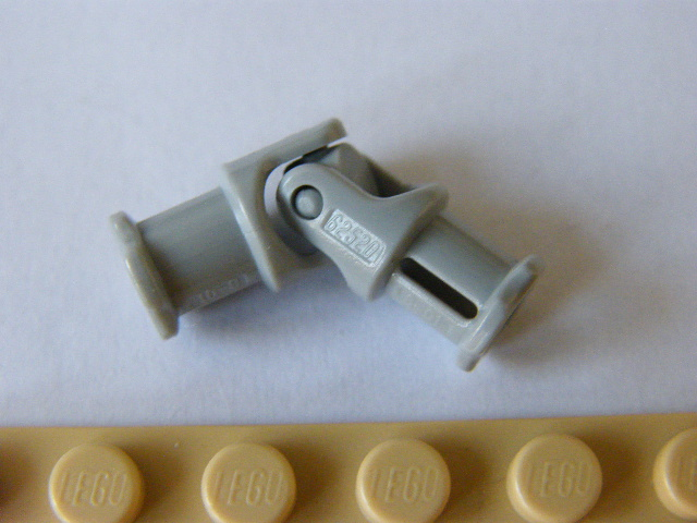 LEGO 62520c01 - Light Bluish Gray Technic, Universal Joint 3L