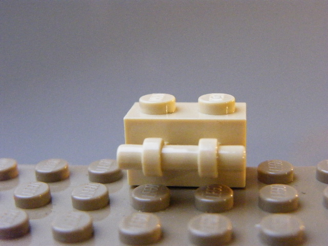 LEGO 30236 - Tan Brick, Modified 1 x 2 with Handle