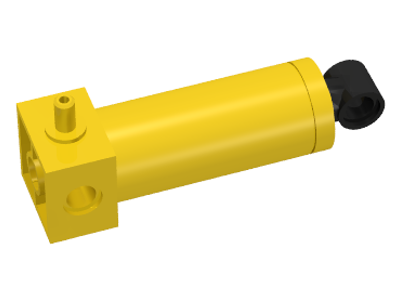 LEGO 4688c01 - Yellow Pneumatic Cylinder with 1 Inlet Medium (48mm)