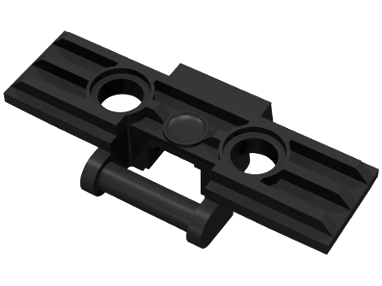 LEGO 57518 - Black Technic, Link Tread Wide with Two Pin Holes