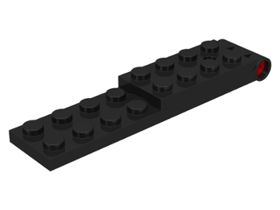 LEGO 3324c01 - Black Hinge Plate 2 x 9 - Complete Assembly