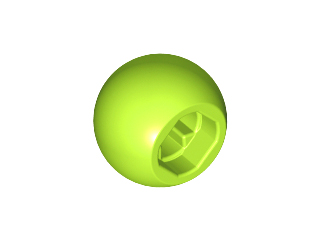 LEGO 32474 - Lime Technic Ball Joint