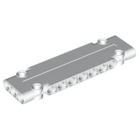 LEGO 15458 - White Technic, Panel Plate 3 x 11 x 1