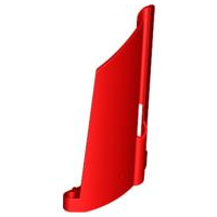 LEGO 44351 - Red Technic, Panel Fairing #21 Large Long, Small Hole, Side B