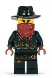 LEGO col085 - Bandit - Minifig only Entry