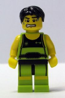 LEGO col026 - Weightlifter - Minifig only Entry