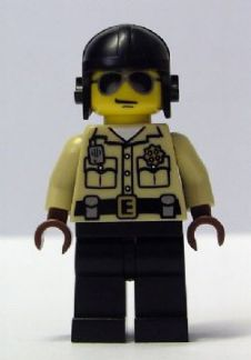 LEGO col022 - Traffic Cop - Minifig only Entry