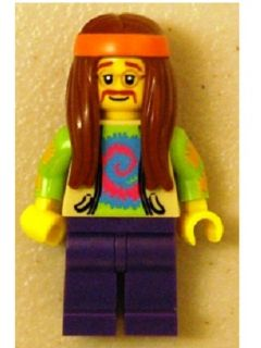 LEGO col107 - Hippie - Minifig only Entry