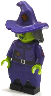 LEGO col214 - Wacky Witch - Minifig only Entry