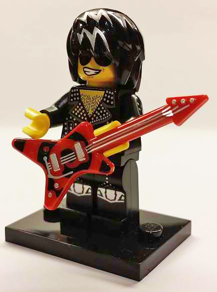 LEGO col12-12 - Rock Star - Complete Set