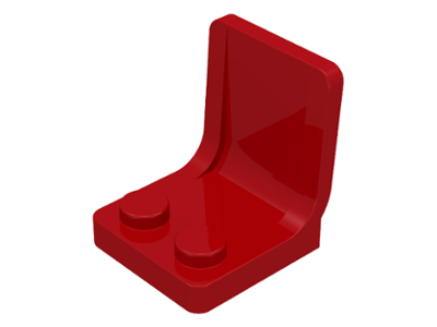 LEGO 4079 - Red Minifig, Utensil Seat (Chair) 2 x 2