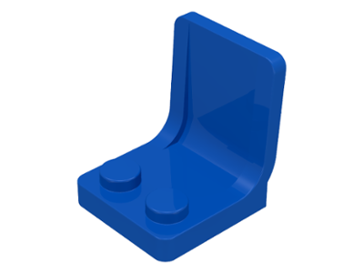 LEGO 4079 - Blue Minifig, Utensil Seat (Chair) 2 x 2