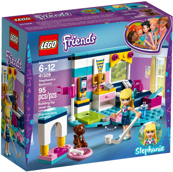 LEGO 41328 - Stephanie's Bedroom