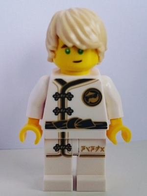 LEGO NJO429 - Lloyd - White Wu-Cru Training Gi