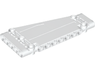 LEGO 18945 - White Technic, Panel Plate 5 x 11 x 1 Tapered