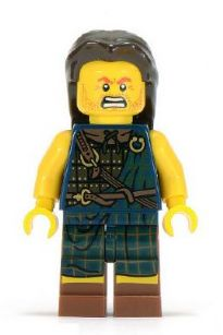 LEGO col082 - Highland Battler - Minifig only Entry