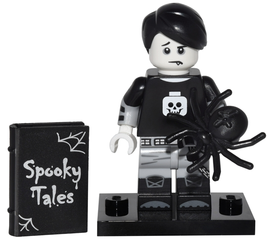 LEGO col16-5 - Spooky Boy - Complete Set