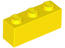 LEGO 3622 - Yellow Brick 1 x 3