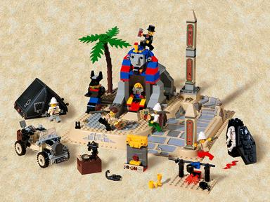 LEGO 5978-1 Sphinx Secret Surprise
