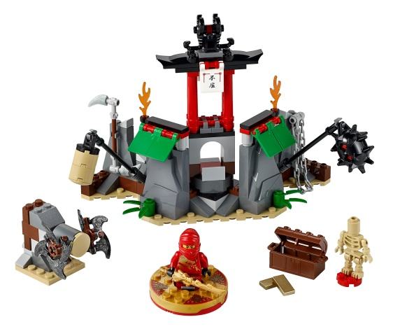LEGO 2254-1 - Mountain Shrine