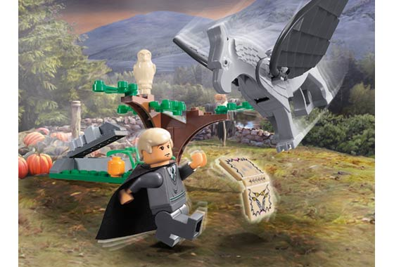 LEGO 4750-1 - Draco's Encounter with Buckbeak