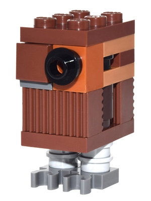 LEGO sw767 - Gonk Droid - Reddish Brown (75146)