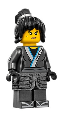 LEGO njo321 Nya - Cloth Armor Skirt, Hair, The LEGO Ninjago Movie (70617)