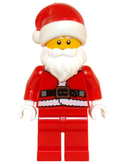 LEGO col122 - Santa - Minifig only Entry