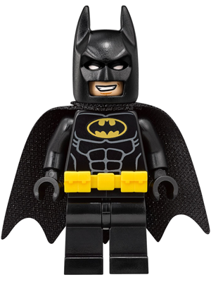 LEGO sh415 - Batman - Utility Belt, Head Type 4