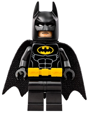 LEGO sh312 - Batman - Utility Belt, Head Type 1