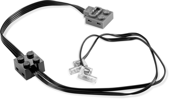 LEGO 61930c01 Electric, Light Unit Power Functions with Black PF Connector Lead