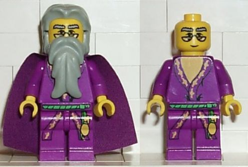 LEGO hp008 Dumbledore (Yellow Version)
