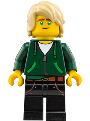 LEGO njo338 - Lloyd Garmadon - Hair, Hoodie High School Outfit