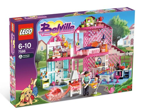 LEGO Set 7586-1 - Sunshine Home