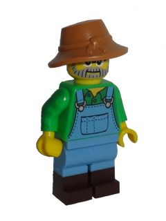 LEGO col228 Farmer - Minifig only Entry