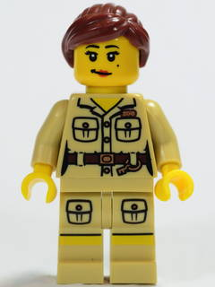 LEGO col071 Zookeeper - Minifig only Entry
