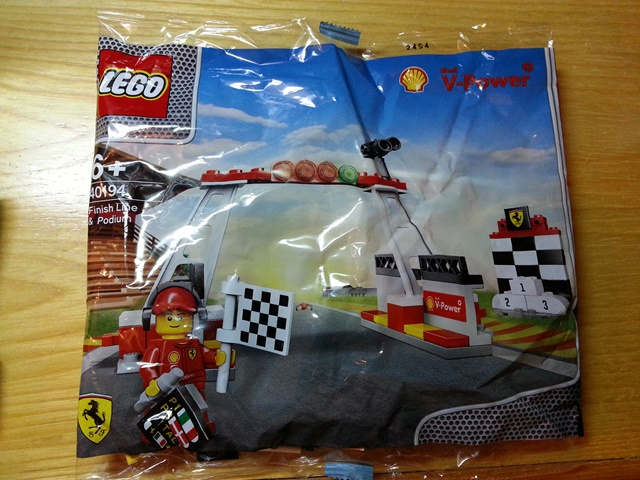 LEGO 40194-1 Finish Line & Podium polybag
