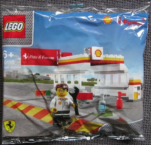 LEGO  40195-1 Shell Station polybag