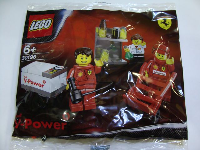 LEGO 30196-1 Shell F1 Team polybag