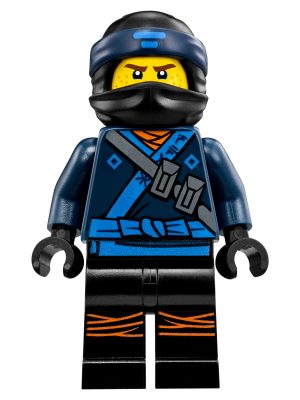 LEGO njo313 Jay - The LEGO Ninjago Movie
