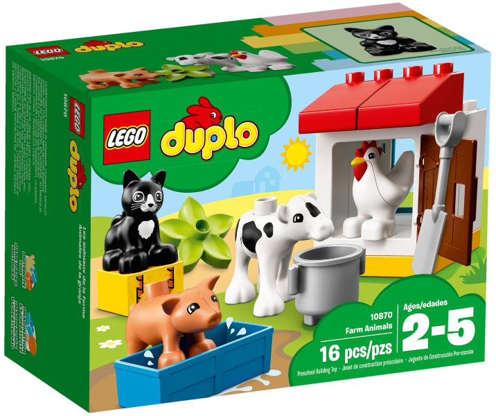 LEGO Set 10870-1 Farm Animals