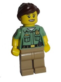 LEGO col235 Animal Control - Minifigure only Entry
