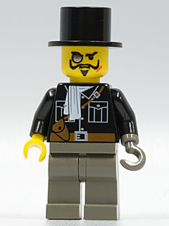 LEGO adv025 Lord Sam Sinister with Black Top Hat