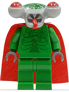 LEGO  sp092 Space Police 3 Alien - Squidman