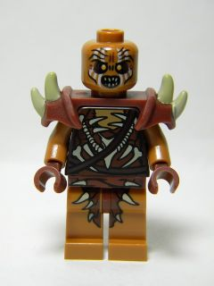 LEGO lor089 Gundabad Orc - Bald with Shoulder Spikes