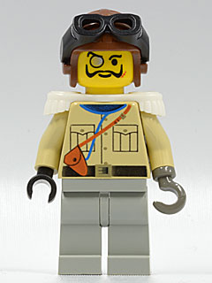 LEGO adv004 Baron Von Barron with Brown Aviator Cap