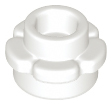 LEGO 24866  White Plate, Round 1 x 1 with Flower Edge