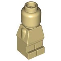 LEGO 85863 Tan Body Microfigure Plain Complete